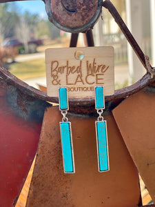 Hosanna Earrings (Turquoise)
