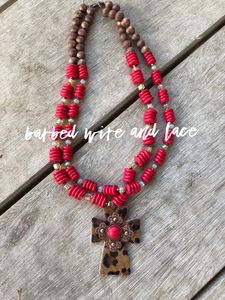 The Dawson Necklace-Red