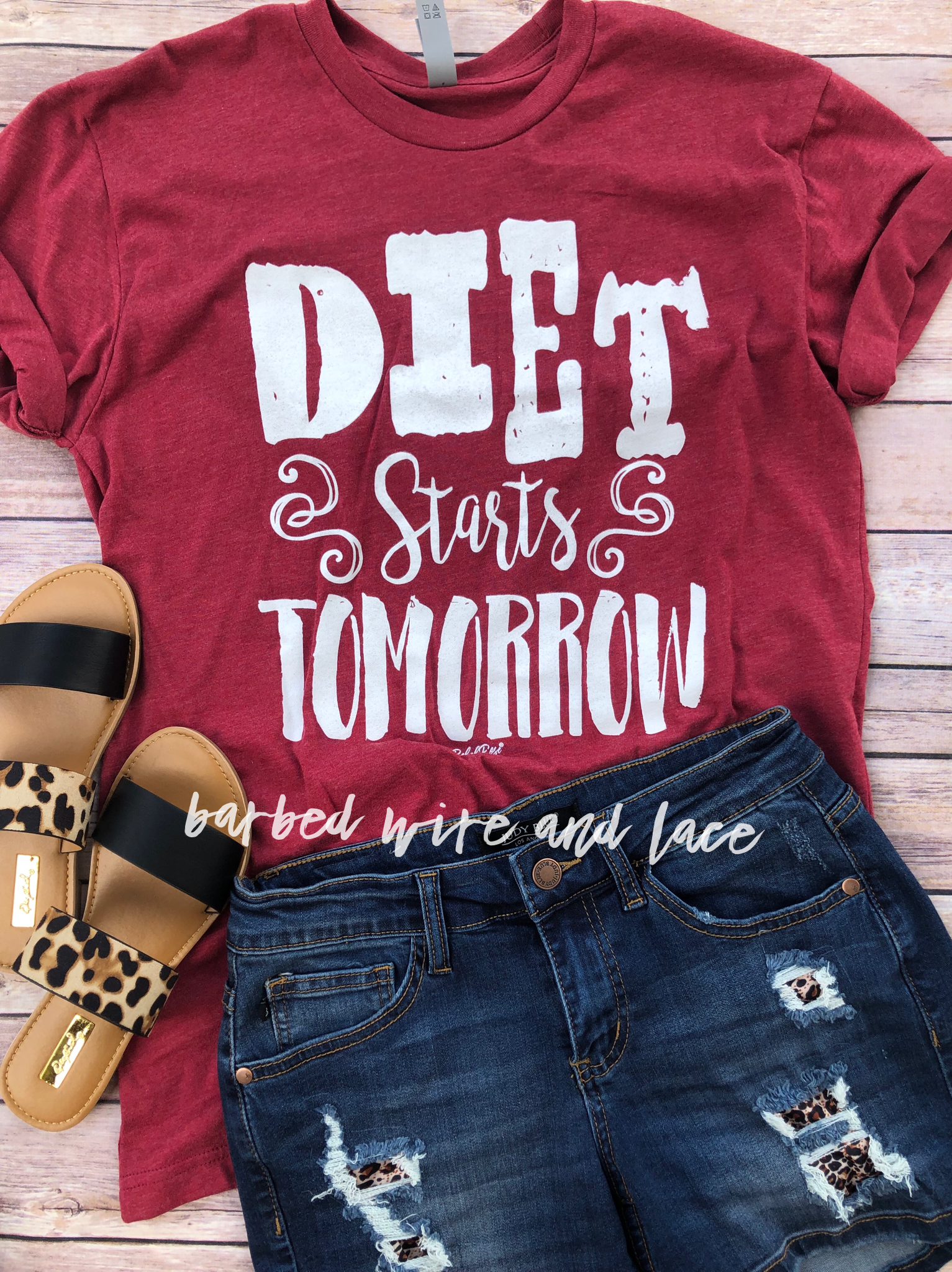 Diet Starts Tomorrow Tee