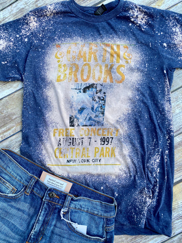 Garth Brooks Bleached Tee