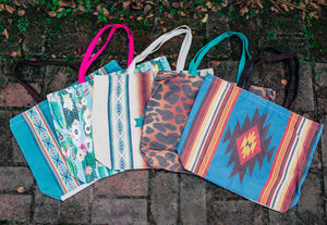 The Jennings Canvas Totes (5 Colors)