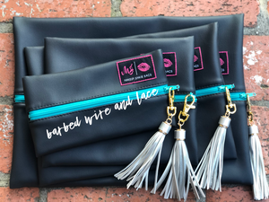 Black Out Set (Turquoise Zipper)