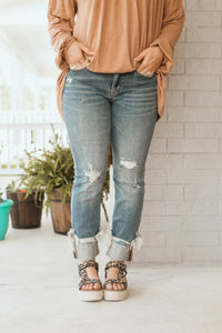 Cuffed Favorite Jeans