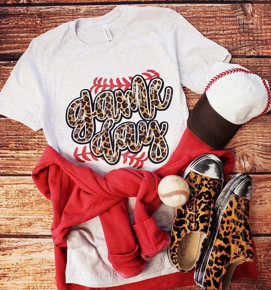 Baseball Game Day Tee