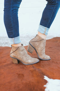 Blowfish Liberty Bootie- Taupe