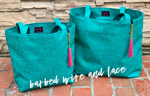 Turquoise Dream Tote