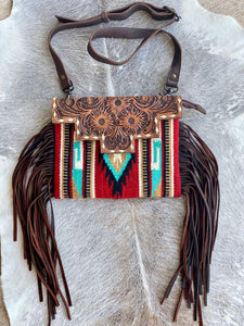 Cedar Bluff Saddle Blanket Crossbody