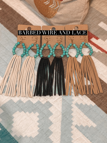 Gilmer Fringe Earrings (3 Colors)