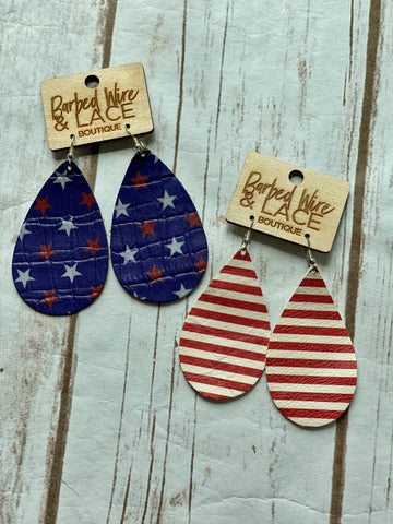 Merica Earrings (2 Options)