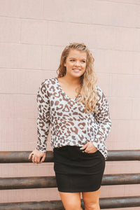 All Around Snow Leopard Top