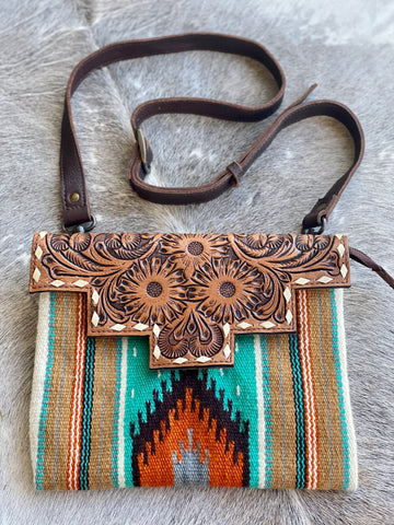 Blount Saddle Blanket Crossbody