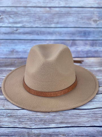 Highway Felt Hat- Tan