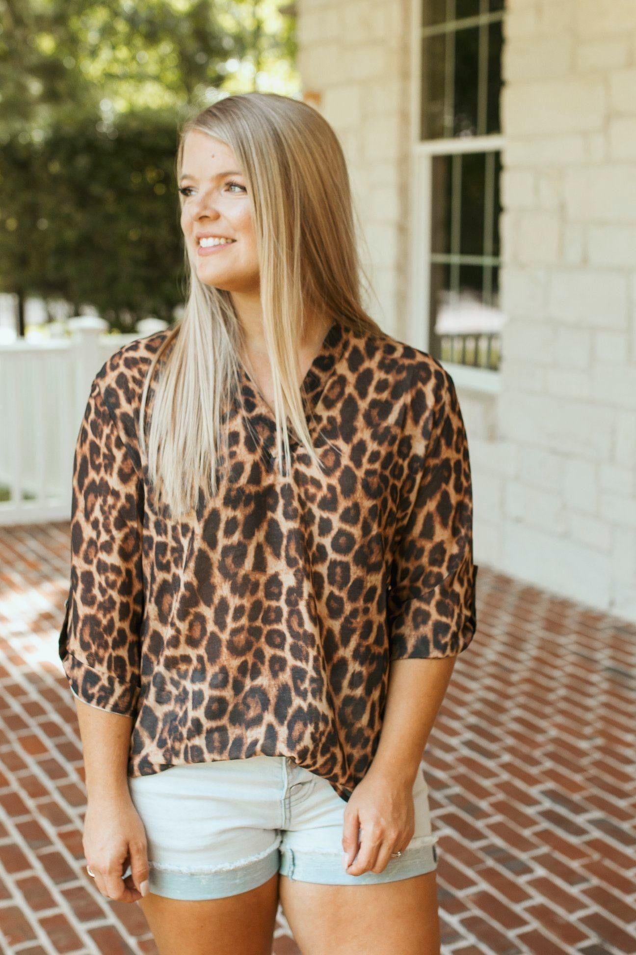 Feeling Good Leopard Top (S-3XL)
