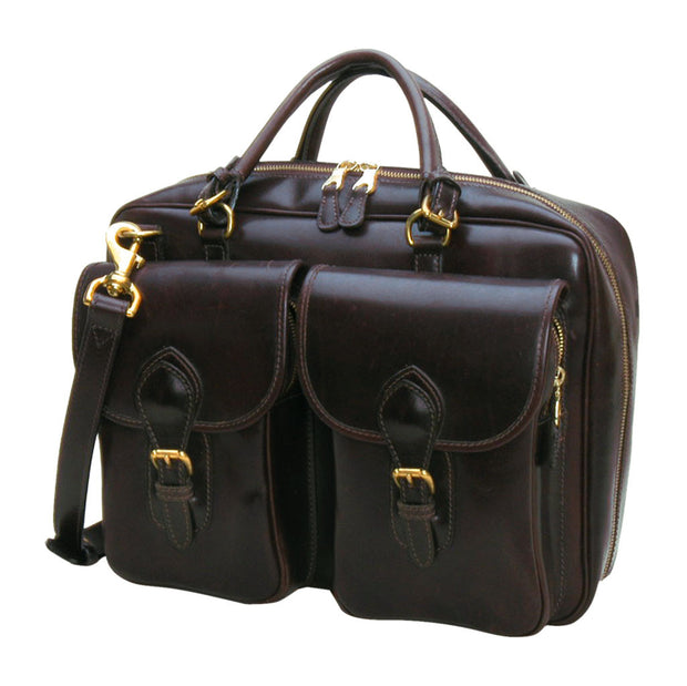 Ranchers Briefcase Dark Brown