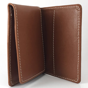 Three Fold Card Wallet Upright