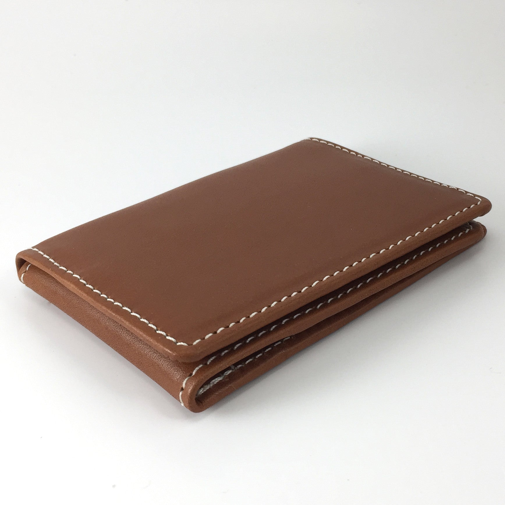 Three Fold Card Wallet Closed