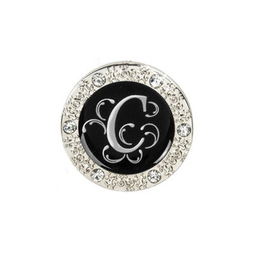"Monogram Bling ""C"" Key Finder"