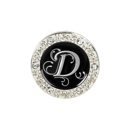 "Monogram Bling ""D"" Key Finder"