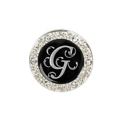 "Monogram Bling ""G"" Key Finder"