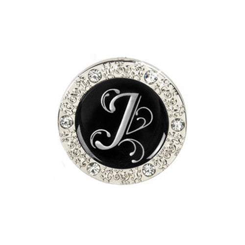 "Monogram Bling ""J"" Key Finder"