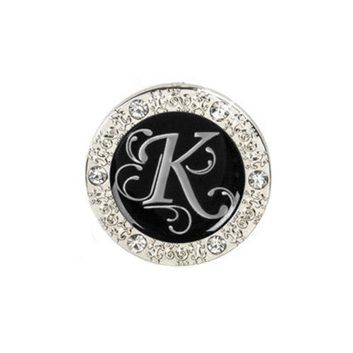 "Monogram Bling ""K"" Key Finder"