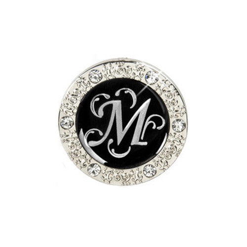 "Monogram Bling ""M"" Key Finder"
