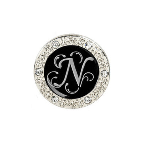 "Monogram Bling ""N"" Key Finder"