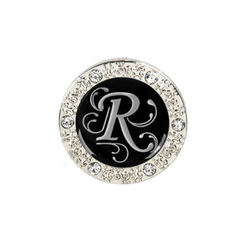 "Monogram Bling ""R"" Key Finder"