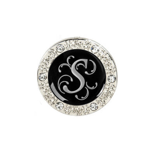 "Monogram Bling ""S"" Key Finder"