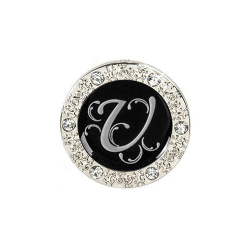 "Monogram Bling ""U"" Key Finder"