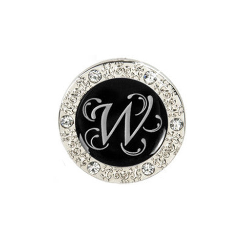 "Monogram Bling ""W"" Key Finder"