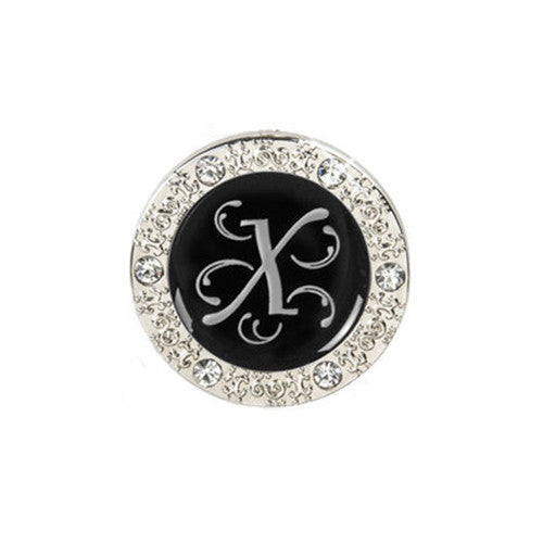"Monogram Bling ""X"" Key Finder"