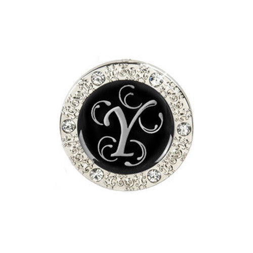 "Monogram Bling ""Y"" Key Finder"