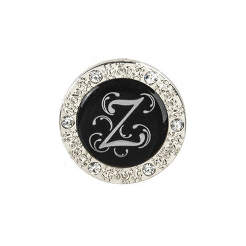 "Monogram Bling ""Z"" Key Finder"