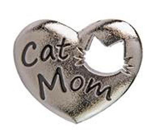 Cat Mom Heart Key Finder