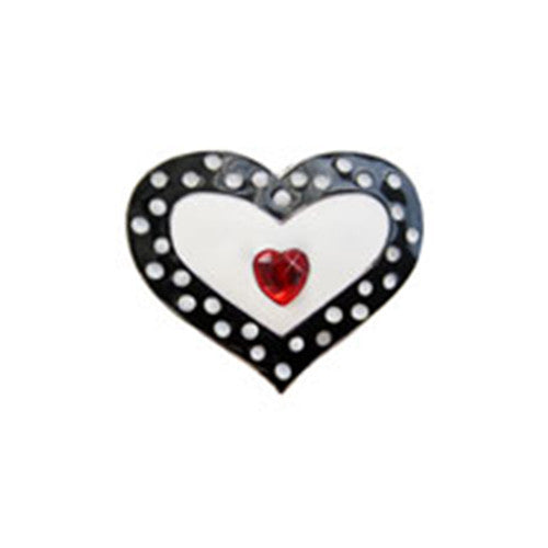 Dotted Heart Key Finder