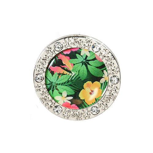 Bling Pattern Hawaiian Flora Key Finder