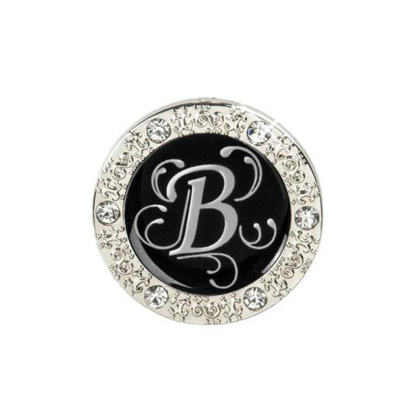 "Monogram Bling ""B"" Key Finder"