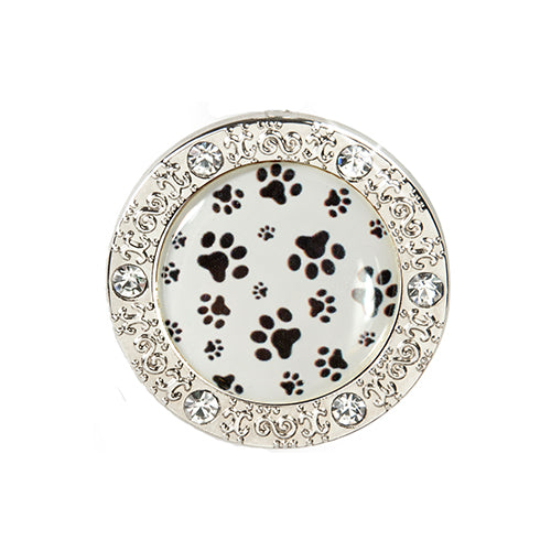 Bling Pattern Little Pawprints Key Finder