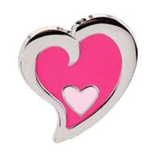 Pink Heart in Heart Key Finder