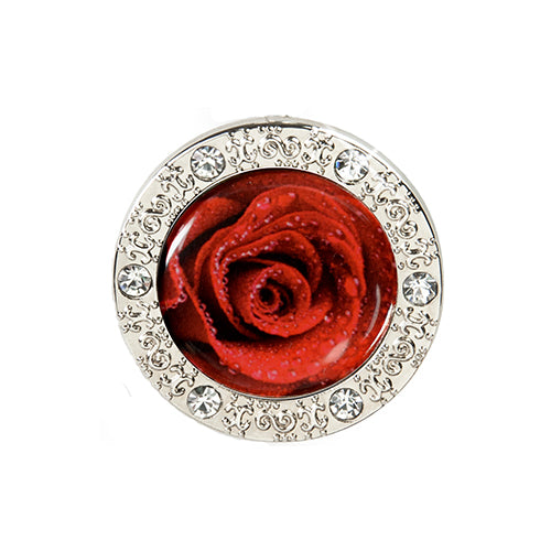 Bling Pattern Rose Key Finder
