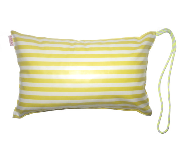 Yellow Beach Pillow
