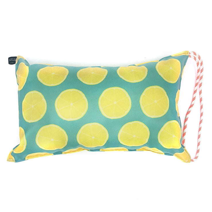 Lemon Beach Pillow