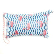 Flamingo Beach Pillow