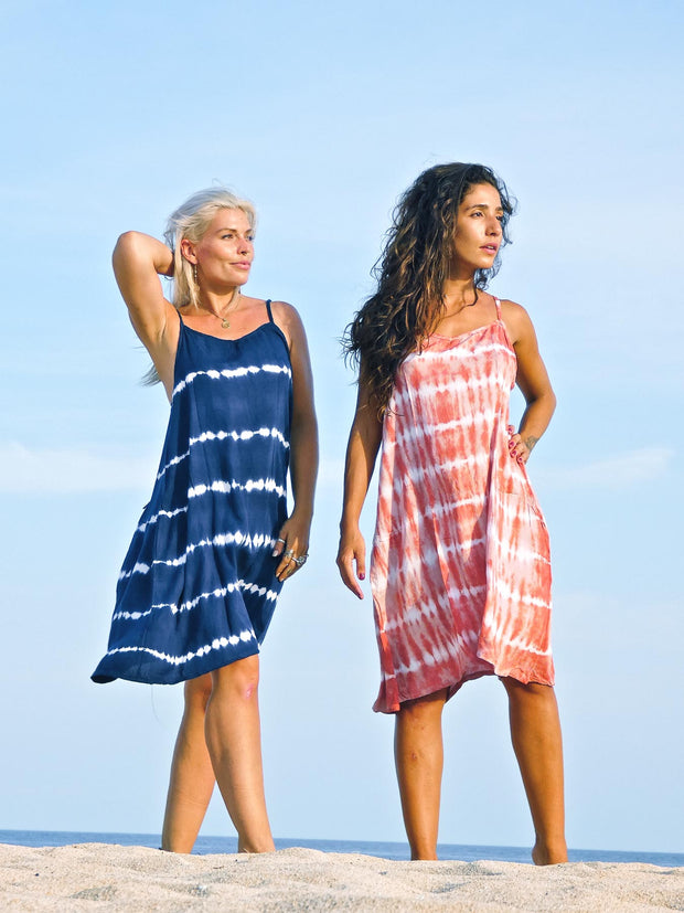 Padar Short Dress Tie Dye