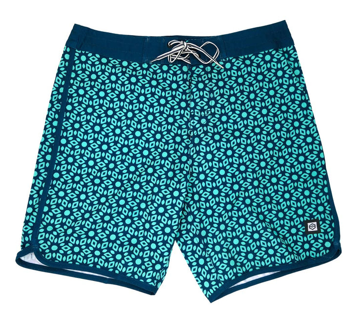 Huntley Round Leg Kids Boardshort