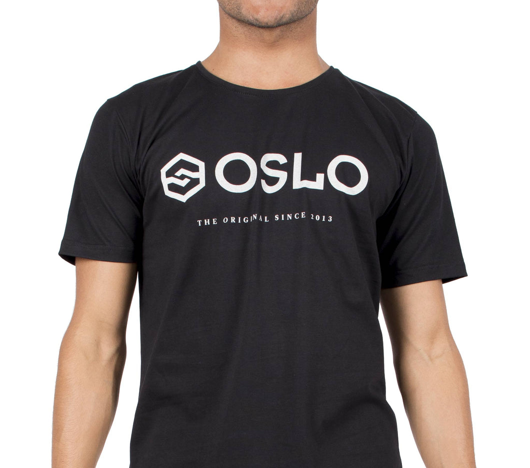 T-shirt Oslo Brand Black
