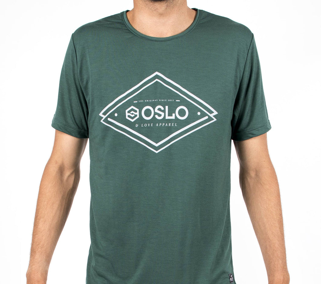 T-shirt Oslo Shape Blue