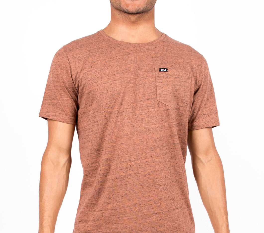 T-shirt Oslo Pocket Orange