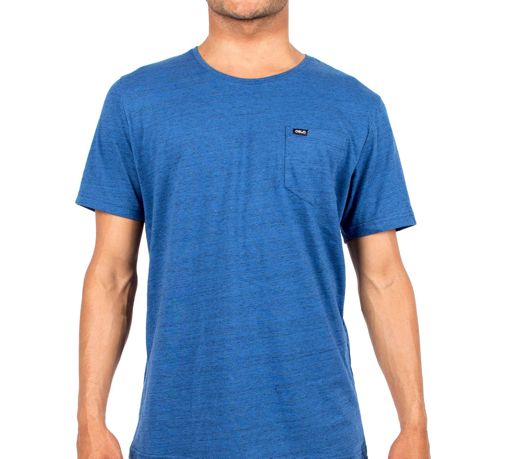 T-shirt Oslo Pocket Blue